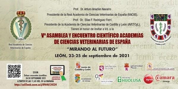 La ULE acoge el viernes 24 la V Asamblea de Academias Veterinarias de España