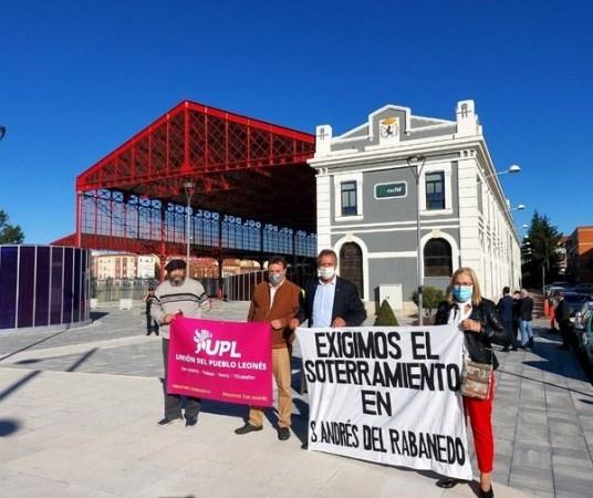 UPL San Andrés reclama a la Ministra de Transporte el soterramiento en el municipio