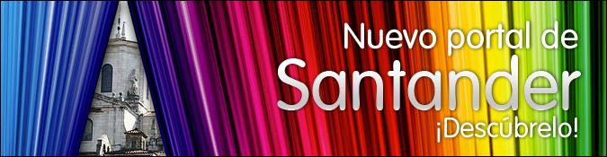 Nuevo portal de Santander