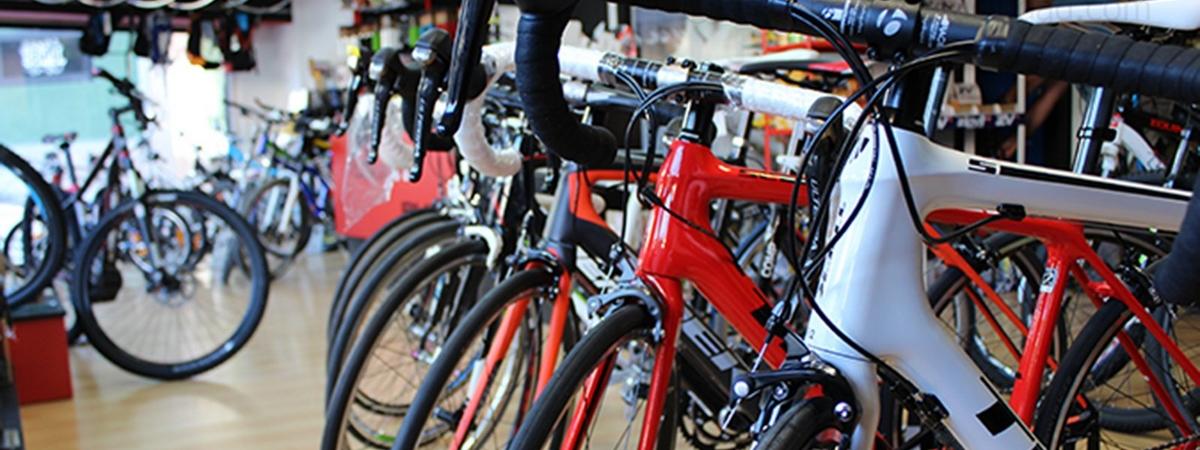 tienda de bicicletas en Ávila, tienda de bicicletas en el barrio de San Roque