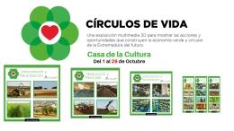 """EXPOSICIóN EN 3D """"EL CíRCULO DE LA VIDA DE LOS RESIDUOS"""""""