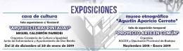 Exposiciones