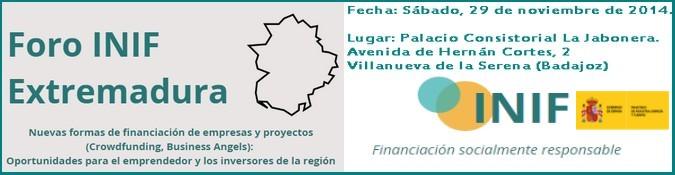 Foro INIF Extremadura