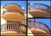 hormigón  imitación madera en Extremadura, prefabricados de imitación madera en España