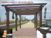 hormigón imitación madera en España y Extremadura, escayola imitación madera en España,