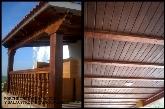 escayola imitación madera en Extremadura, balaustres imitación madera en España