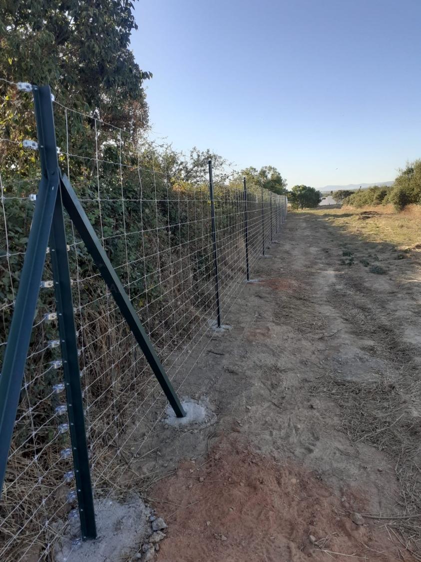 cerramientos con alambradas en Cáceres