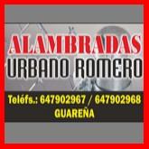 URBANO - ALAMBRADAS Y CERRAMIENTOS EN EXTREMADURA