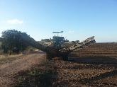 plantación de arboles en portugal, gps con precisión rtk, charcas, nivelación de tierras, excavacion