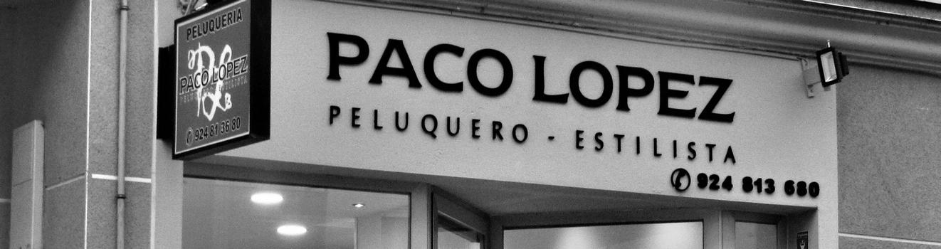 Paco López (Peluquero Estilista)