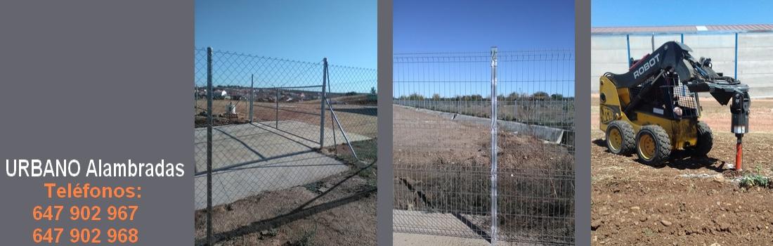 alambradas en Badajoz, alambradas en la siberia,cerramientos,cerramientos en Extremadura