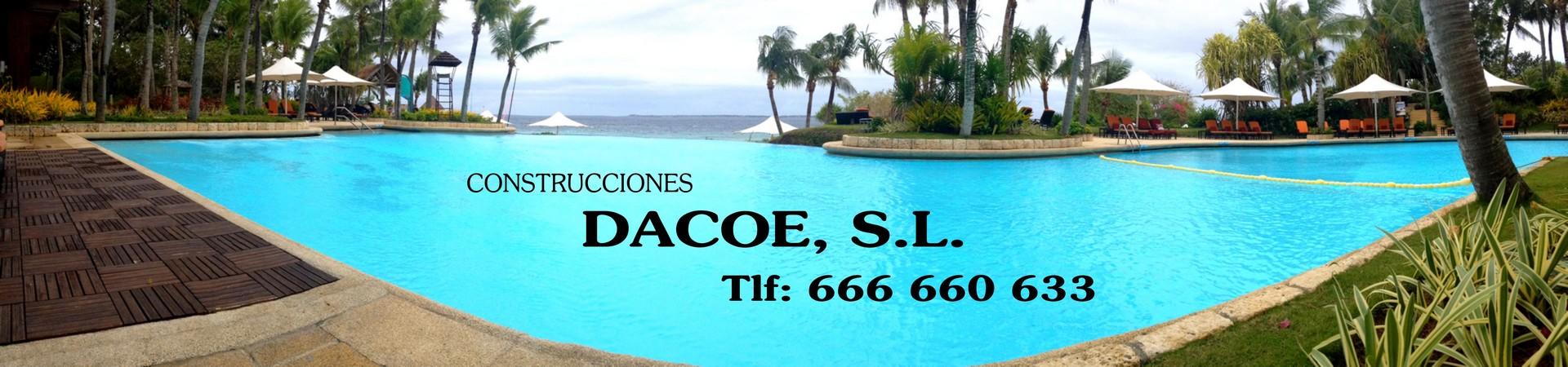 Construcciones Dacoe S.L, Dacoe , piscinas en villanueva , piscinas en don benito