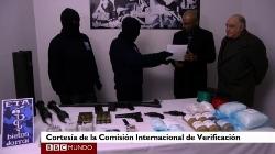 """ETA anuncia el desmantelamiento de las estructuras """"logísticas y operativas"""" de la """"lucha armada"""""""