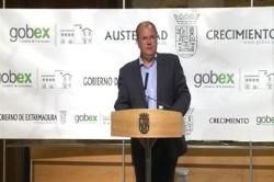 Monago anuncia una bajada de impuestos de 114,3 millones en 2015