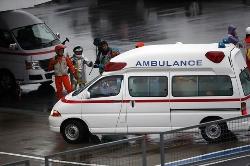 Bianchi, operado de urgencia tras el accidente de Suzuka