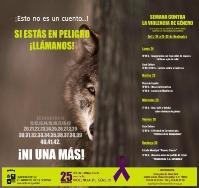 Semana contra la Violencia de Género del 24 al 30 de noviembre
