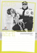 Tráfico edita una segunda edición del calendario elaborado para ayudar a la asociación que colabora con la perrera municipal