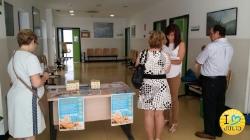 La campaña de prevención de cáncer de piel, en el centro de salud