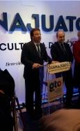 Fernández Vara asiste a la presentación del Punto Guanajuato-México en Madrid