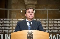 """Fernández Vara pide """"acuerdos concretos"""" en la Conferencia de Presidentes para que sea """"creíble"""""""