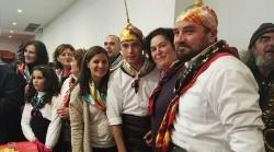 Gil Rosiña y García Bernal participan en la fiesta de 'La Encamisá'
