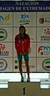 La nadadora Estela González obtiene varios oros en el campeonato BMW de Extremadura infantil y junior
