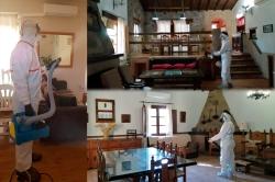 Diputación de Cáceres comienza la desinfección de 2.000 establecimientos turísticos