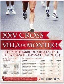 El Cross 'Villa de Montijo' celebrará el próximo 12 de septiembre su vigésimo quinta edición
