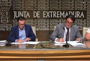 La Diputación Badajoz contribuye con 476. 570 euros al convenio con el SEPAD