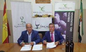 La Diputación de Badajoz apoyará la promoción de los vinos de Denominación de Origen Ribera del Guadiana