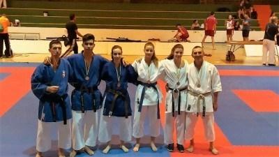 """Deportistas del Kárate """"El Cristo"""", consiguen tres medallas en el Campeonato de España de Karate Tradicional y Veterano"""