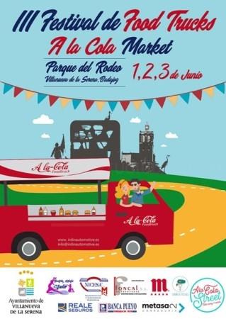 """III Festival de Food Trucks """"A la Cola Market"""""""