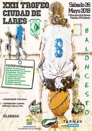 El 26 de mayo se disputará el XXII Trofeo Ciudad de Lares.