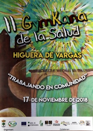 Higuera de Vargas organiza su II Gymkana de la Salud.