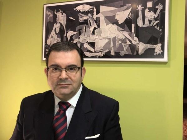 Vicente Caballero, nuevo gerente del área de salud Don Benito-Villanueva de la Serena.