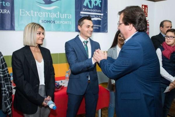 Manuel Rasero Ruiz y Marta García Lozano Premio Extremadura del Deporte 2019