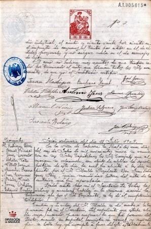 Recorriendo la historia de Talavera la Real desde 1906