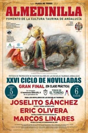 Eric Olivera integra la terna de la gran final del XXVI Ciclo de Novilladas sin picadores que se celebra en Almedinilla