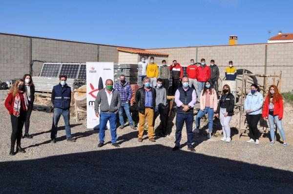 La Diputación de Badajoz inaugura un curso de instalaciones solares fotovoltaicas en Bienvenida