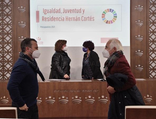 La Diputación destina una línea de acción novedosa dirigida a menores de mujeres víctimas de violencia de género