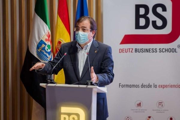 Escuchar Fernández Vara pone en valor el crecimiento de las empresas extremeñas y su proyección en España y el mundo
