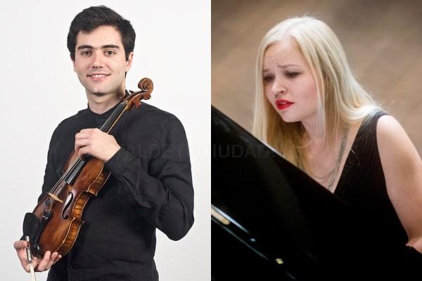 Recital de violín y piano en el marco del Proyecto International pre-college Encounters (IpE) del Conservatorio Superior