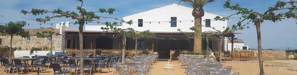 restaurante de playa menorca