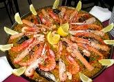 Paella de marisco, de carne o mixta en club nautic Ciutadella