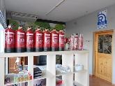 mantas ignífugas, Centrales de incendios de monóxido