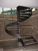 escaleras metálicas menorca