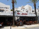 pizzeria Mr Jaume en Cala en Bosc Menorca