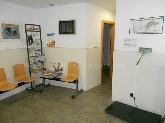 sala de espera clinica veterinaria en menorca