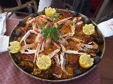paella de marisco en menorca