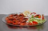 lenguado con patatas calamares a la plancha gambas ensalada parrillada de pescado...